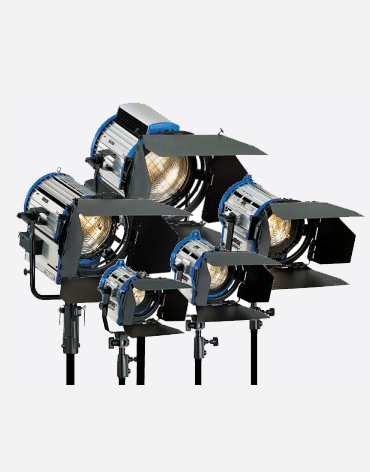 Arri fresnel Light Set